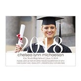 Proud Graduate Personalized Graduation Invitation-Horizontal - 14353-H