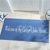 Our Family Getaway Personalized Doormat -Oversized - 14361-O