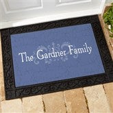 Our Family Getaway Personalized Recycled Rubber Back Doormat - 14361-S