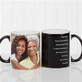 Photo Sentiments For Her Personalized Coffee Mug 11oz.- Black - 14383-B