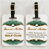 Golf Course Personalized Bag Tag - 14384