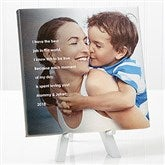 Photo Sentiments For Her Tabletop Canvas Print- 8