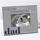 First Hero/First Love Personalized Frame - 14407