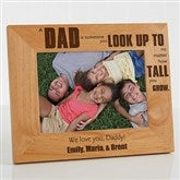Special Dad Personalized Frame- 5 x 7 - 14408-M