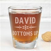 Raise Your Glass To... Personalized Shot Glass - 14410