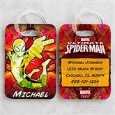 Ultimate Spider-Man® Personalized Luggage Tag Set - 14420