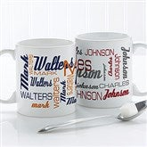 Signature Style For Him Personalized Coffee Mug 11 oz.- White - 14425-W