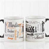 Signature Style For Him Personalized Coffee Mug 11oz. - Black - 14425-B