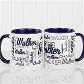 Signature Style For Him Personalized Coffee Mug 11 oz.- Blue - 14425-BL