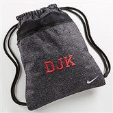 Nike® Embroidered Drawstring Bag- Monogram - 14428-Mono