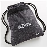 Nike® Embroidered Drawstring Bag- Name - 14428-Name