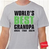 Granddude Personalized Hanes® Adult T-Shirt - 14438-AT