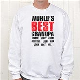 Granddude Personalized Adult Sweatshirt - 14438-S