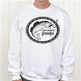 We're Hooked On....Personalized Adult Sweatshirt - 14439-S