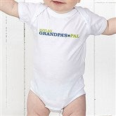 Grandpa's Favorite Personalized Baby Bodysuit - 14440-CBB