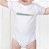 Grandpa's Favorite Personalized Baby Bodysuit - 14440-CBB
