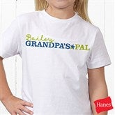 Grandpa's Favorite Personalized Hanes® Youth T-Shirt - 14440-YT