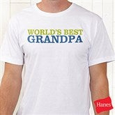 Grandpa's Favorite Personalized Hanes® Adult T-Shirt - 14440-AT