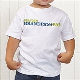 Grandpa's Favorite Personalized Toddler T-Shirt - 14440-TT