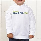 Grandpa's Favorite Personalized Toddler Hooded Sweatshirt - 14440-CTHS