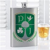 My Crest Personalized Flask- Graphic - 14467-G