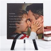 Photo Sentiments For Him Tabletop Canvas Print - 14473