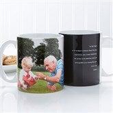 Photo Sentiments For Him Personalized Photo Mug 11 oz.- White - 14474-W