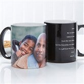 Photo Sentiments For Him Personalized Coffee Mug 11oz.- Black - 14474-B