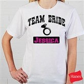 Team Bride Personalized Hanes® T-Shirt - 14484-T