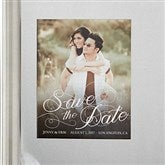 Simply Elegant Photo Save The Date Magnets - 14496-M