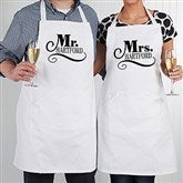 Happy Couple Personalized Apron - 14504