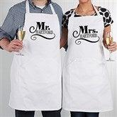 Happy Couple Personalized Apron - 14504