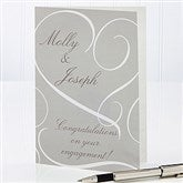 Couple In Love Personalized Greeting Card - 14524