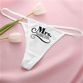 The Happy Couple Personalized Thong - 14526