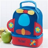 Airplane Embroidered Lunch Bag - 14554