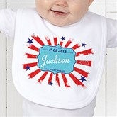 My First 4th Of July Personalized Bib - 14567-B