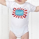 My First 4th Of July Personalized Baby Bodysuit - 14567-CBB