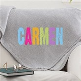 All Mine! Personalized Sweatshirt Blanket - 14570