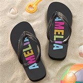 All Mine! Personalized Flip Flops - 14571
