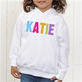 All Mine! Personalized Toddler Hooded Sweatshirt - 14572-CTHS