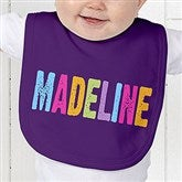 All Mine! Personalized Baby Bib - 14572-B