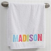 monogrammed personalized towels personalizationmall com