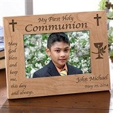 Blessed Sacrament© Personalized Frame - Horizontal - 1458-H