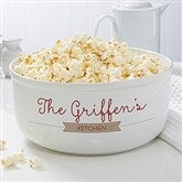 Our Family Personalized Serving Bowl - 14580
