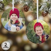 2-Sided Picture Perfect Personalized Photo Ornament- Small - 14590-2