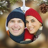 1-Sided Picture Perfect Personalized Photo Ornament- Small - 14590-1