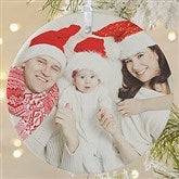 1-Sided Picture Perfect Personalized Photo Ornament-Large - 14590-1L