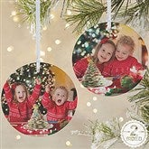 2-Sided Picture Perfect Personalized Photo Ornament- Large - 14590-2L