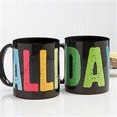 All Mine! Personalized Coffee Mug 11oz. - Black - 14592-B