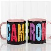 All Mine! Personalized Coffee Mug 11oz. - Pink - 14592-P